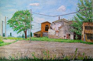 esempio pittura acquerello
