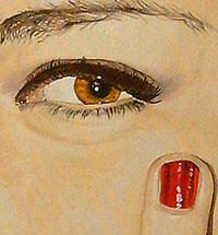 dettaglio pittura a olio